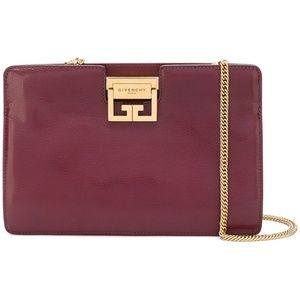 GIVENCHY Frame Clutch on Chain